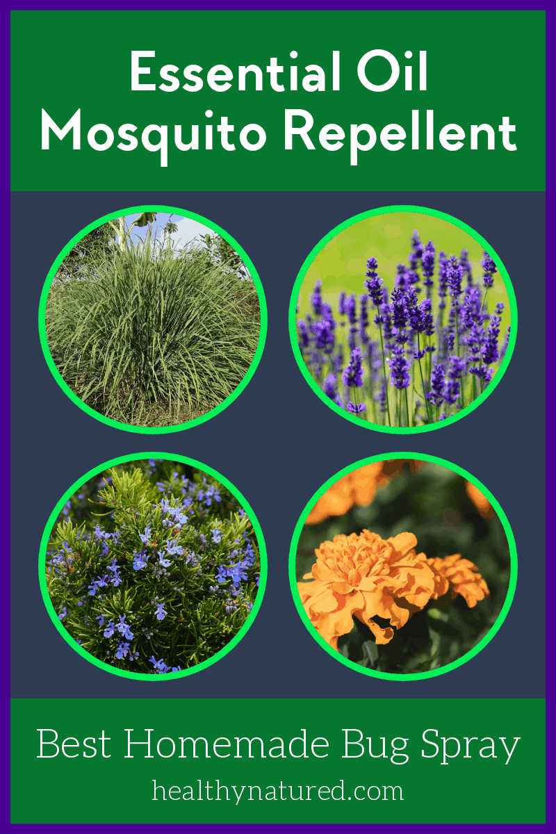 Best 4 Essential Oil Mosquito Repellent Recipes (Easy Homemade Bug Spray)