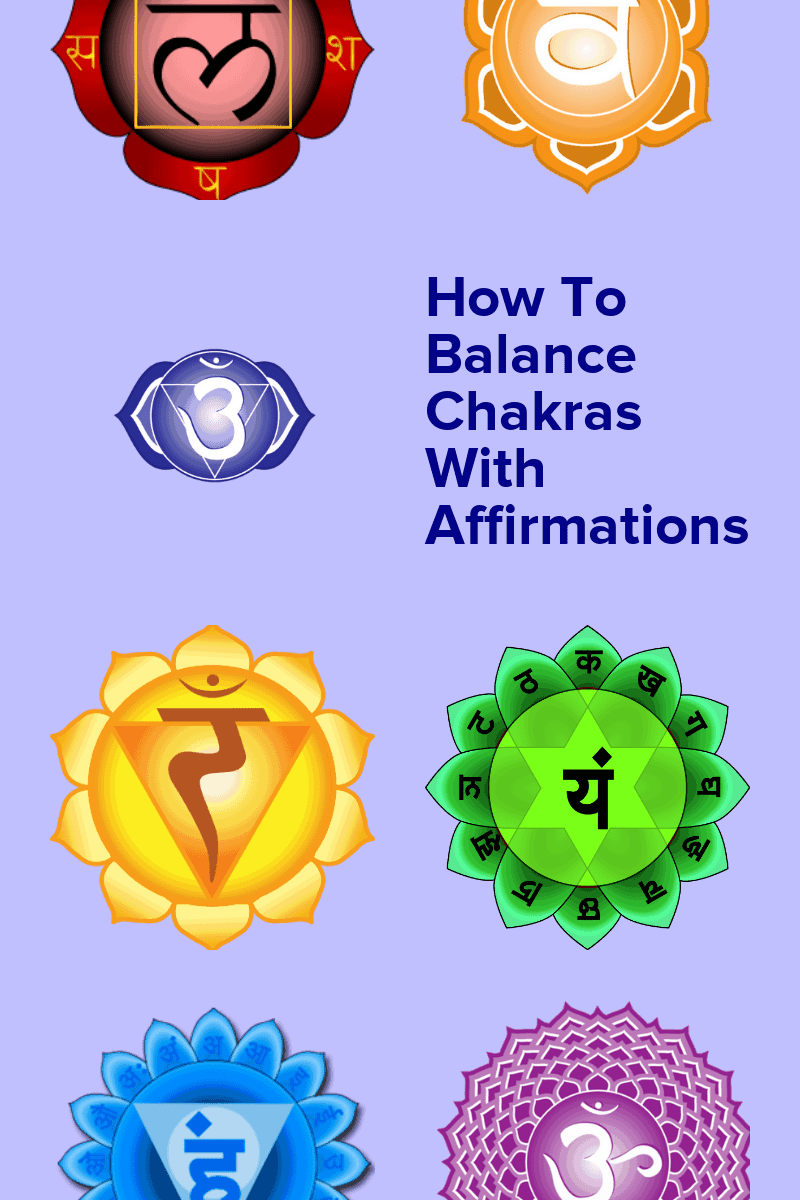 Balance Chakras With Affirmations (Chakra Affirmations For Meditation)