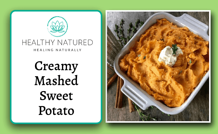 Creamy Mashed Sweet Potato