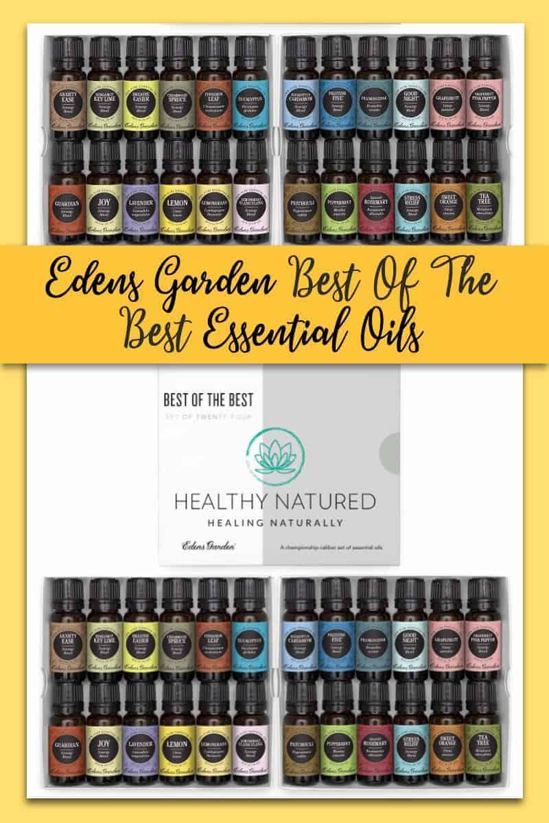 24 Edens Garden Best Of The Best Essential Oils - Don\'T Miss This!