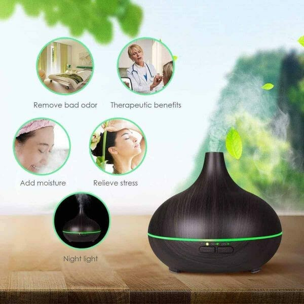 Essential Oil Diffuser Gift Set Benefits
