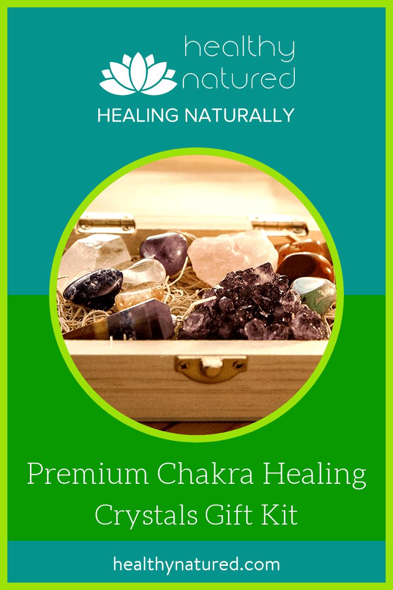 Premium Chakra Healing Crystals Gift Kit (13 Pieces)