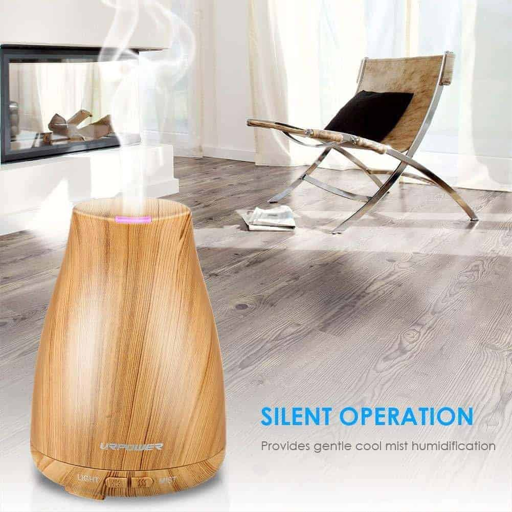 Urpower 2Nd Version Essential Oil Diffuser (6 Hour Home Aromatherapy)