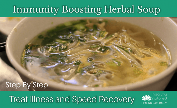 Immunity Boosting Herbal Soup Recipe