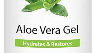 100% Pure Aloe Vera Gel. Amazing Treatment Product