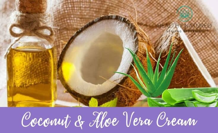 Coconut And Aloe Vera Cream 1
