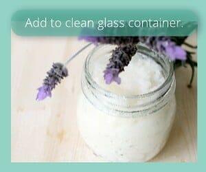 Storage Options Homemade Face Cream