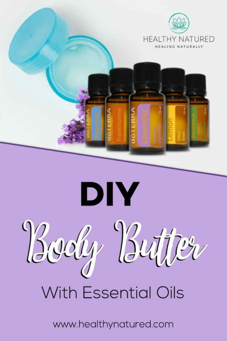 Diy Body Butter With Essential Oils Pin