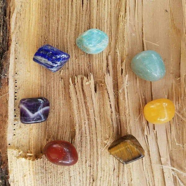 Natural Chakra Stones Set - Chakra Crystals