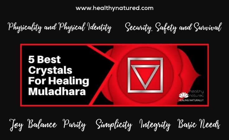 Muladhara Chakra Crystals